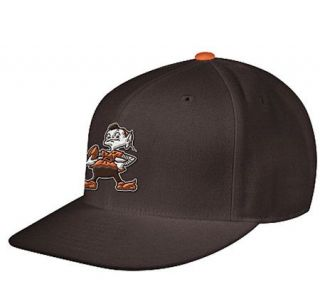 NFL Cleveland Browns Fitted Throwback Hat —