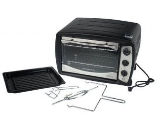 CooksEssentials 0.9 Cubic Foot Nonstick Convection Oven with