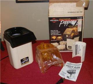Bend Poppery 2 II 1200W Hot Air Popper Pop Corn Coffee Roaster