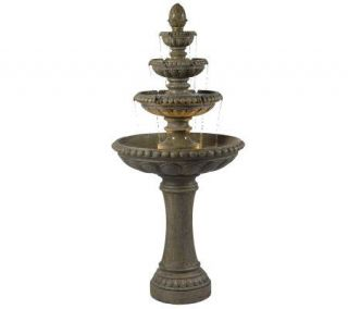 Kenroy Home Rialto Outdoor Floor Fountain —