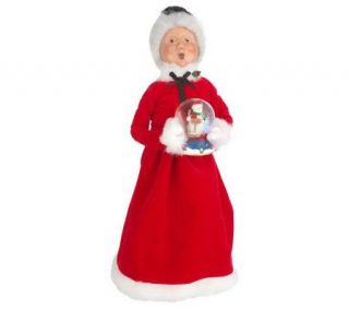 Byers Choice Santa or Mrs. Claus Collectible Keepsake —