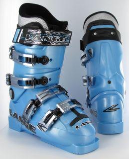 Lange World Cup 80 Team Crazy Blue 06 07 Ski Boots 6 0