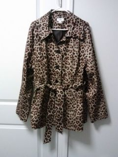 Leopard Print Jacket Very Beautiful 22 24