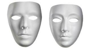 Adult Men Women Female Male Mask Drama Costume Face Mask Masks