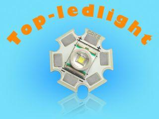 2pcs 3W 20mm Bright White CREE XR E Q5 High Power LED Light 250LM for