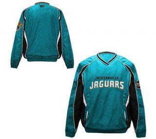 NFL Jacksonville Jaguars Mens V Neck Pullover —