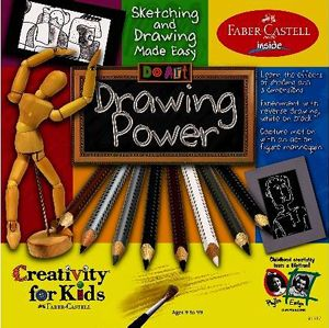 Creativity for Kids do Art Drawing Power Craft Kit New