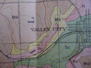 1903 Soil Survey Map Jamestown Valley City North Dakota