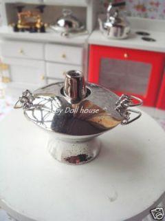 12 Dollhouse Miniature Asian Cookware Hot Pot Kettle