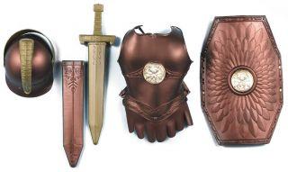 roman armor child costume kit forum novelties description includes
