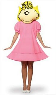 Costumes Lic Adult Peanuts Sister Sally Costume Set
