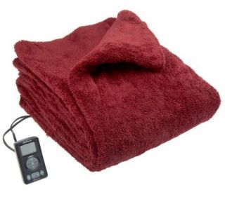 Sunbeam LoftTec Plush King Size Heated Blanket —