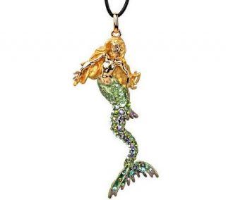 Kirks Folly Calypso Mermaid Necklace —