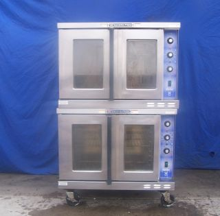 Bakers Pride Double Stack Electric Convection Oven