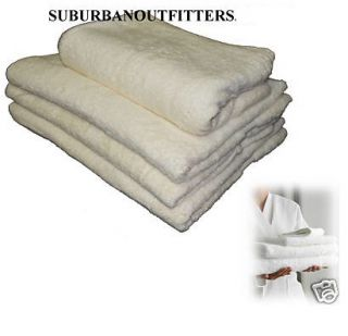 Jumbo Cotton Bath Sheet Towel White 170x80cm