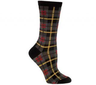 Ozone Design Set of 2 Gordon Plaid Socks —