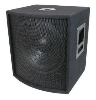 1000 Watt DJ PA 18 Subwoofers with Cabinets & Crossovers, NEW