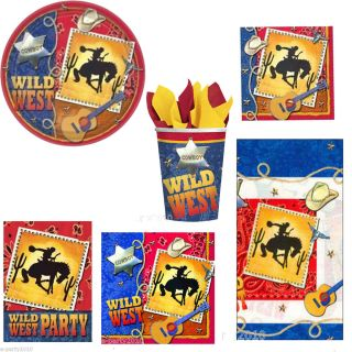 Wild Wild West Country Western Birthday Party Supplies Create Your Set