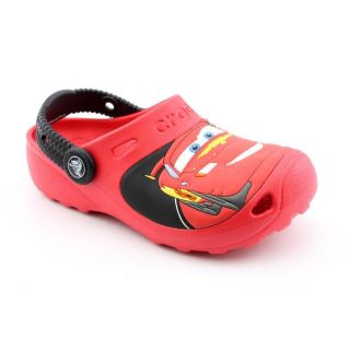 Crocs Cars 2 Custom Clog Toddler Boys Size 6 Red Synthetic Clogs Shoes