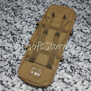 Tactical Gear 33 Dual Rifle Carrying Case Gun Bag Coyote Brown