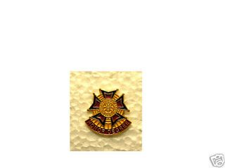 VFW Military Order of The Cootie Hat Pin Lapel Pin