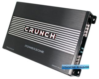 Crunch PZA1400 2 1400W 2 Channel Class A B Car Stereo MOSFET Power