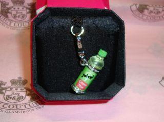 New Juicy Couture Green Tea Charm for Bracelet, Necklace,Handbag