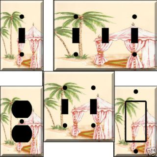 Tropical Retreat Light Switch Plate Cover Switchplate
