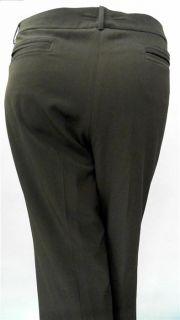 Covington Plus Womens 20W Stretch Flat Front Dress Flare Pants Mid
