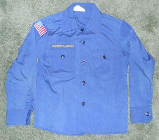 Boy Scouts of America BSA Official Cub Scout Uniform Shirt Size 10