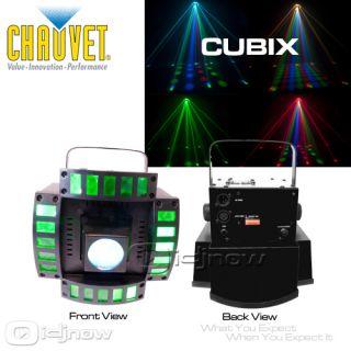 CHAUVET CUBIX LED DJ DMX CENTERPIECE MULTI COLOR LIGHTING EFFECT & AC