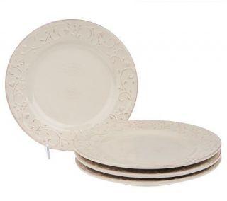 Heartfelt Home Set of 4 Dinner Plates by Valerie —