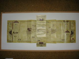 Harry Potter Marauders Map Replica Memorabilia New Prop