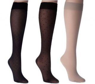 Legacy Legwear 6 Pair of Womens Trouser Socks —