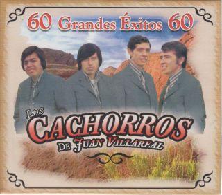 de Juan Villareal CD New Exitos Album Con 60 Corridos Canciones