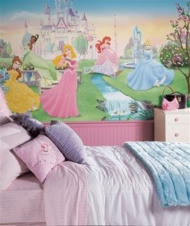 Disney Princess Wall Borders Murals Cinderella Snow White Sleeping