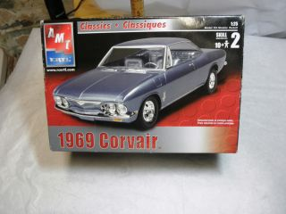 1969 Corvair Plastic Model Kit AMT Ertl