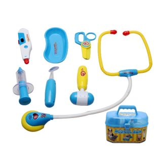 8pcs Multicolor Kid Creative Education Toy Medical Kit Doctor Nurse