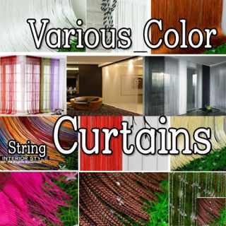 String Curtains Door Window Panel Blinds Vertical Room