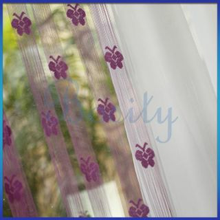 Fringe Door Window Panel Room Divider String Curtain Butterfly Strip