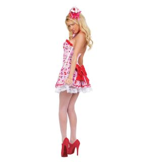 Sexy Costumes Cupcake Girl Adult Womens Halloween New