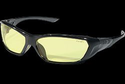 Crews FF124 Forceflex Safety Glasses Amber Lens 1 Pair