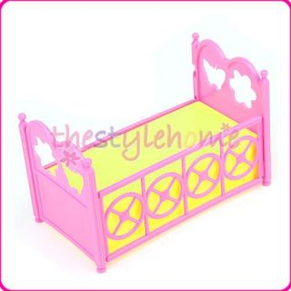 Baby Doll Furniture Night Sleep Bed Crib for Kelly Doll