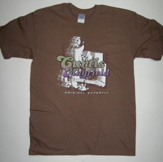 Curtis Mayfield Superfly Funk Soul T Shirt Tee Shirt M