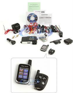 Crimestopper Fortress FS 80 2 way Car Alarm w/ Keyless Entry & Remote