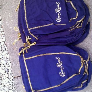 20 Crown Royal bags 750ml