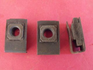 CHEVY POWERGLIDE TRANSMISSION TORQUE CONVERTER NUT CLIPS 56 57 58 59