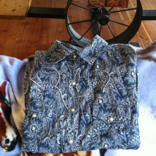 Cruel Girl x Large Western Shirt Flawless