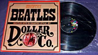 Country Beatles Ultra RARE Covers Album Cosmic Country Rock LP