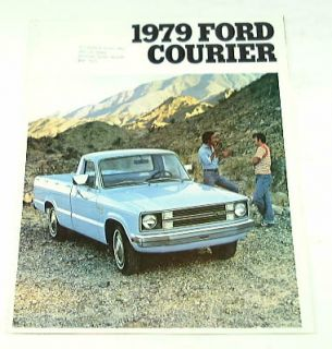 1979 79 Ford Courier Pickup Truck Brochure XLT Sport